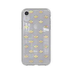 ADIDAS COVER CLEAR APPLE IPHONE XR GOLD - thumb - MediaWorld.it