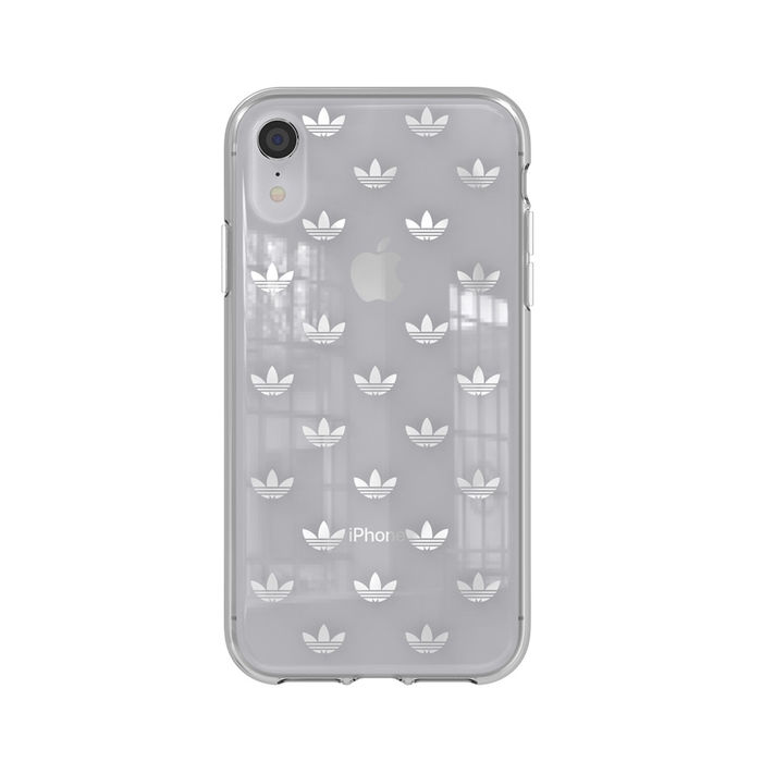 ADIDAS COVER CLEAR APPLE IPHONE XR SILVER - thumb - MediaWorld.it