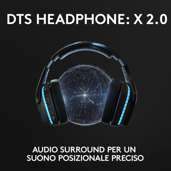LOGITECH G935 - thumb - MediaWorld.it