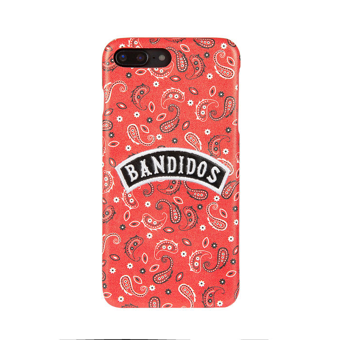 Benjamins Ricamo Bandidos Rosso per iPhone 6P,7P,8P - thumb - MediaWorld.it