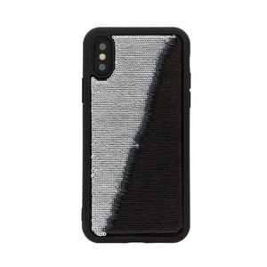 Benjamins Paillettes Nero/Argento per iPhone X,XS - thumb - MediaWorld.it