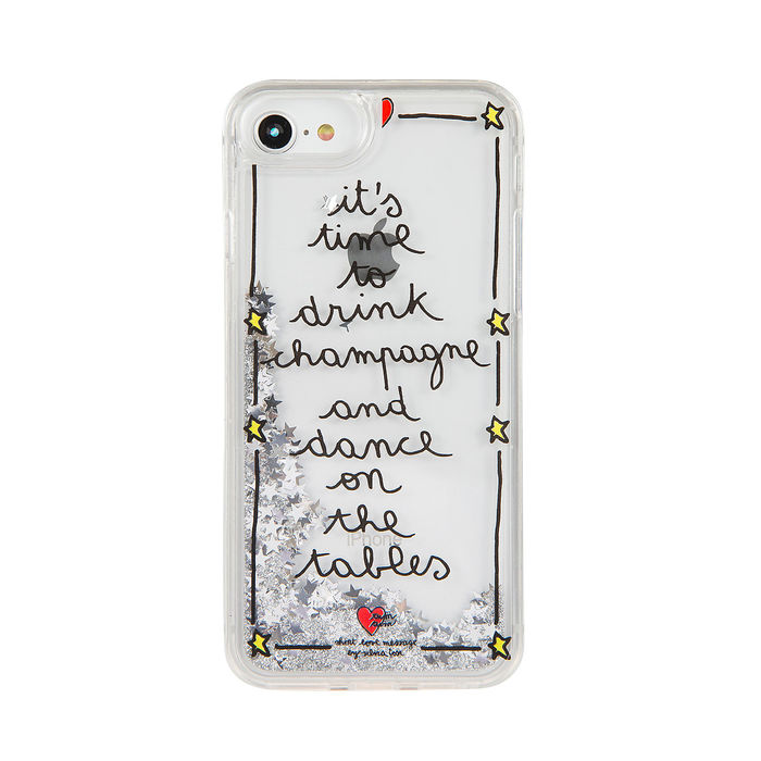 "Short Love message Liquido ""Champagne"" per iPhone 6,7,8 - thumb - MediaWorld.it"