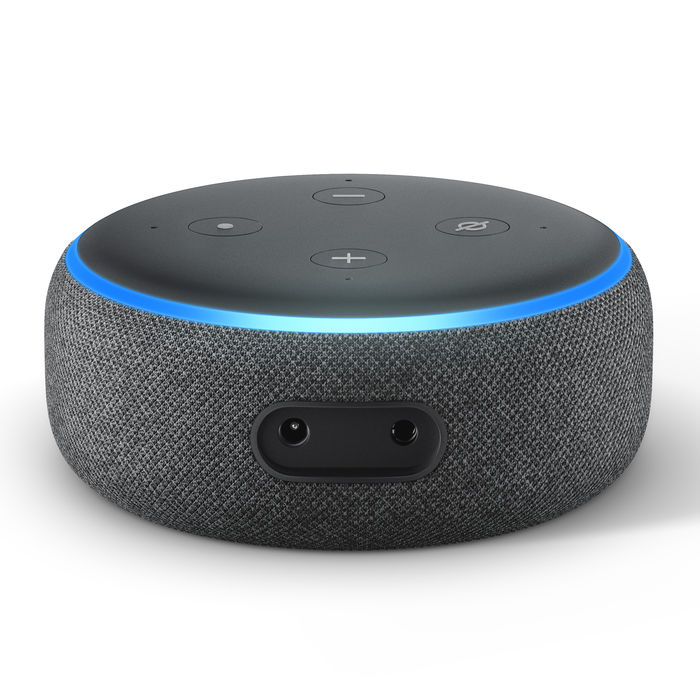 AMAZON ECHO DOT (3ª generazione) Antracite - thumb - MediaWorld.it