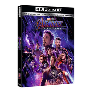 Avengers Endgame - Blu-Ray UHD - MediaWorld.it