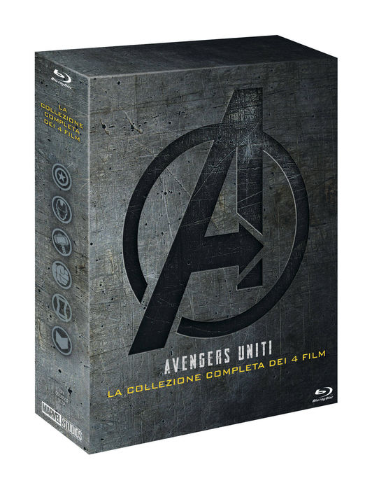 Avengers - Collezione 4 Film - Blu-Ray - thumb - MediaWorld.it