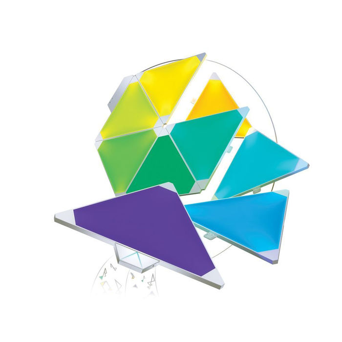 NANOLEAF AURORA RHYTHM SMARTER KIT - thumb - MediaWorld.it