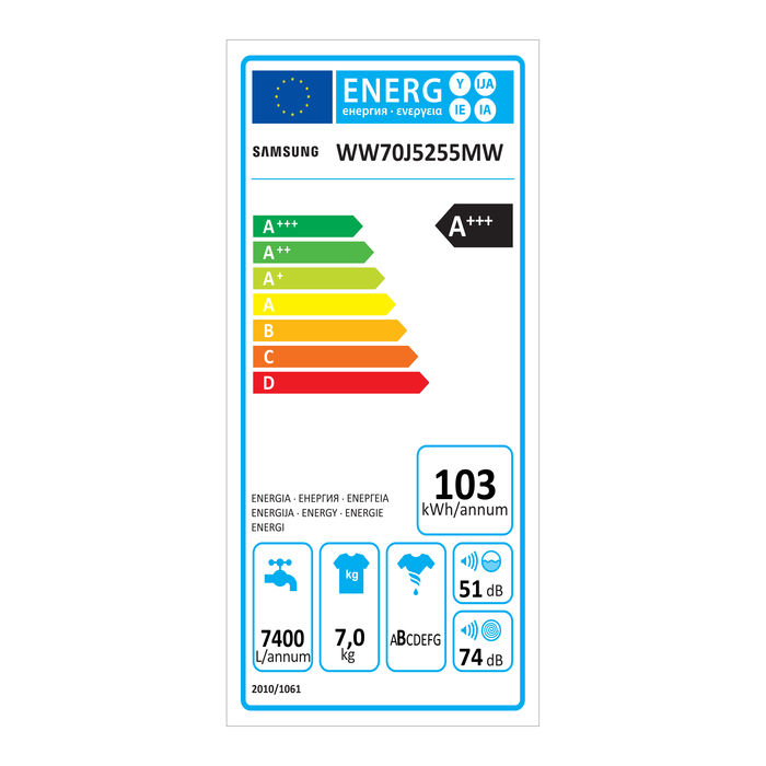 SAMSUNG WW70J5255MW/ET - thumb - MediaWorld.it