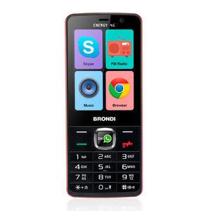 BRONDI Energy 4G NERO / ROSSO - MediaWorld.it