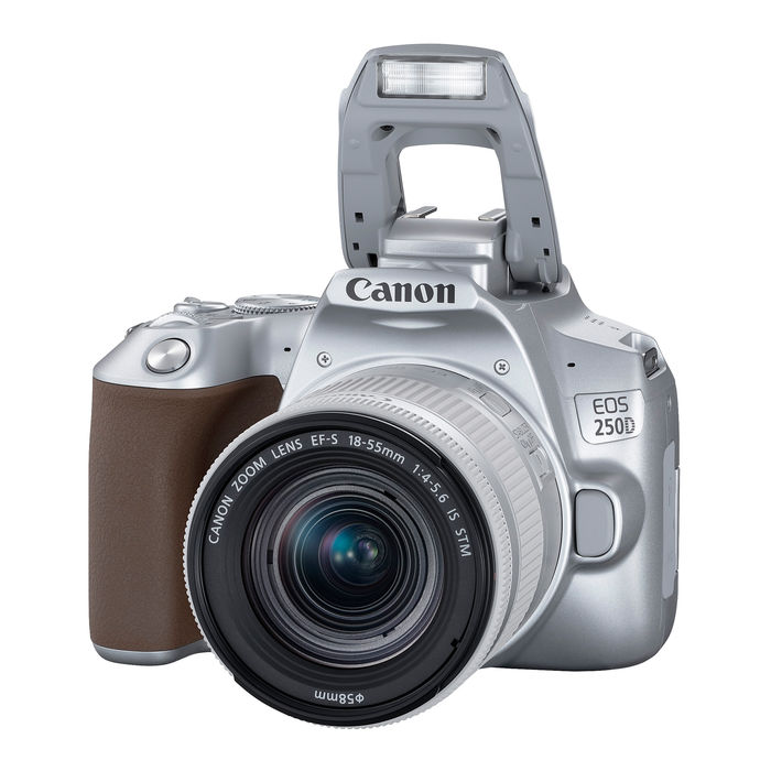 CANON EOS 250D SILVER + EF-S 18-55 IS STM SILVER - thumb - MediaWorld.it