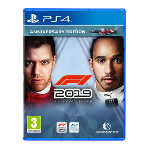F1 2019 Anniversary Edition - PS4 - MediaWorld.it
